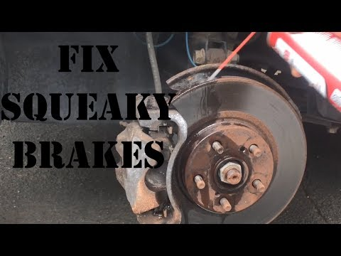 Cleaning car brakes! Are they squeaky?