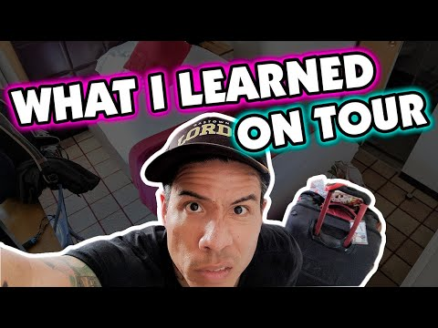 5 Travel Tips & Essentials (from a Touring Musician) | Travel Life Hacks
