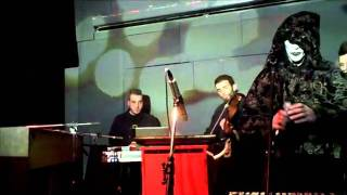 Background Projection -  Beauty as Word (Rozz Williams poem) (Live @ 6 D.O.G.S)