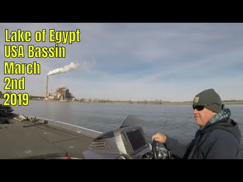Lake Of Egypt USA BASSIN March 2nd 2019