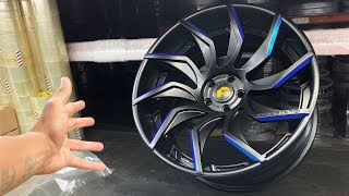 PICKING UP MY BRAND NEW RIMS FOR MY MCLAREN! *FINALLY COMPLETE*