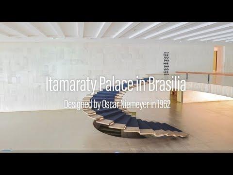 Palacio Itamaraty - Oscar Niemeyer - Clásicos remodelados en ARCHICAD