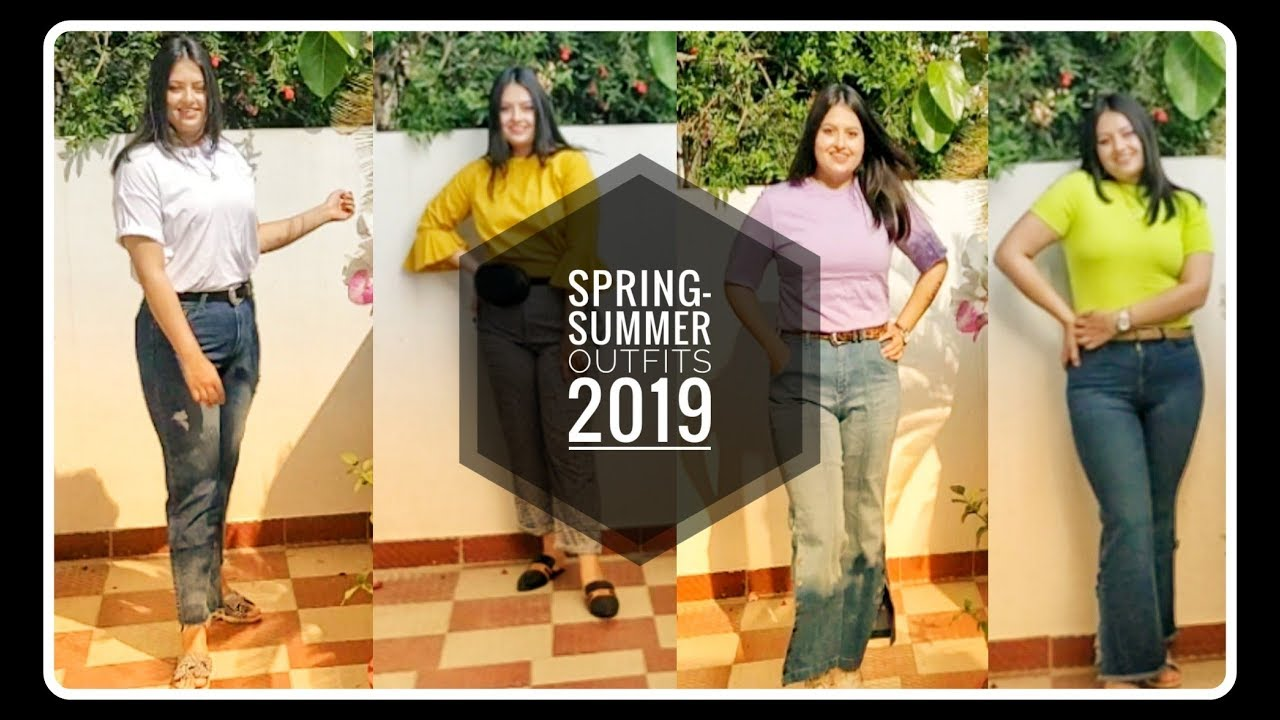 [VIDEO] - Trendy Spring/Summer Outfits in India• LookBook 2019• DIKSHITA PUNETHA 5
