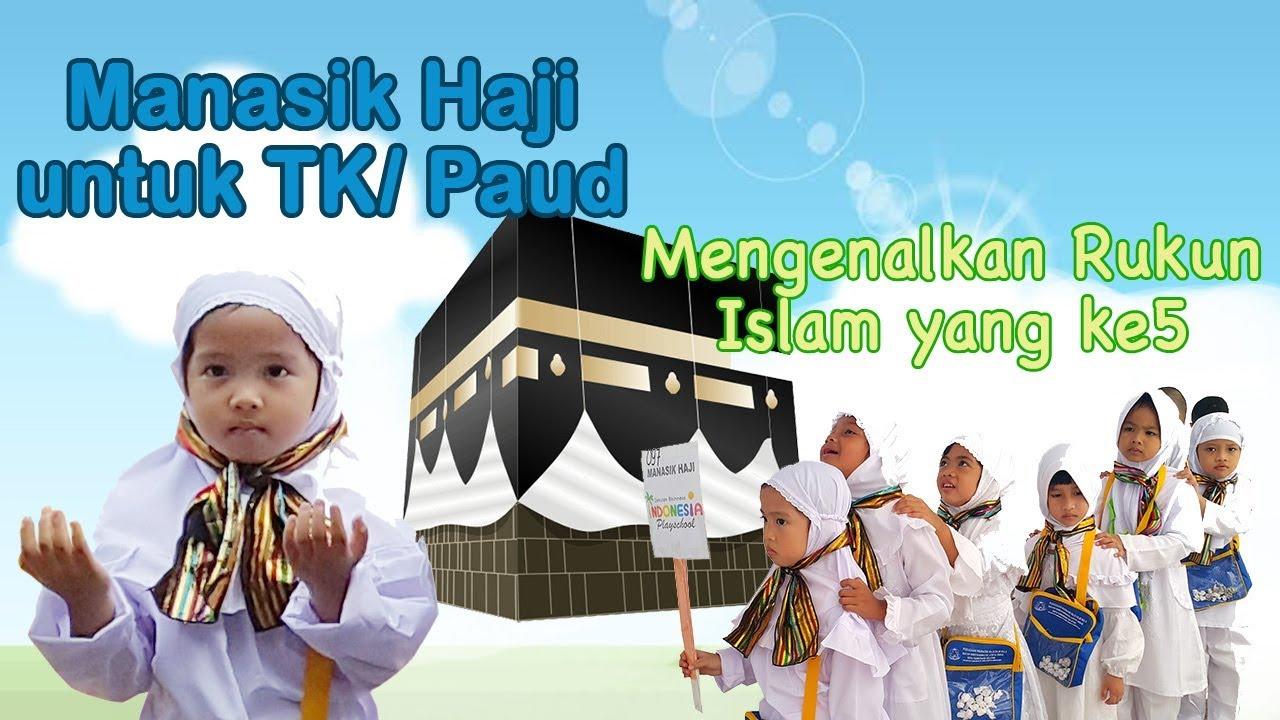 Banner Manasik Haji Anak Tk - desain banner kekinian