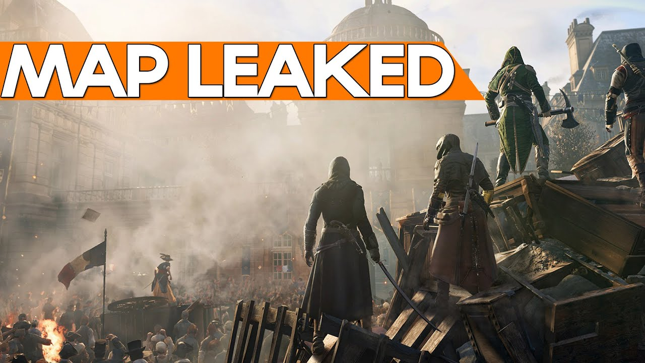 Assassin S Creed Unity Map Leaked Ac Rogue Listing Youtube