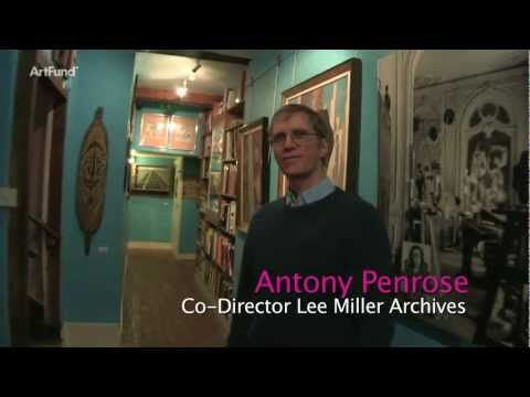 Man Ray Portraits: Lee Miller's house
