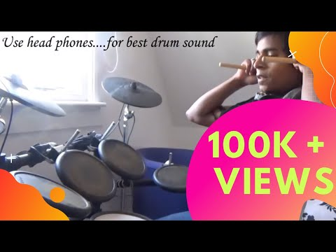 Bhaag DK Bose - Delhi Belly (Electric Drum Cover) by : Manas Bhatnagar