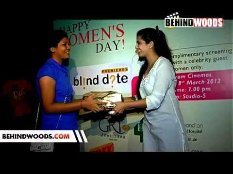 Varalakshmi @ Blind Date Premiere