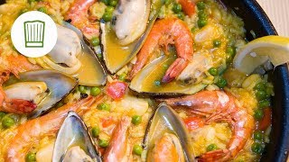 Paella ganz einfach selbst zubereiten #chefkoch