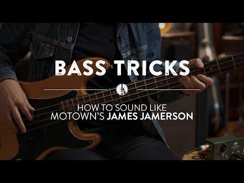 The James Jamerson Motown Bass Sound | Reverb Bass Tricks