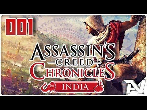 Let's Play Assassins Creed Chronicles India (German/HD+) #001 [Arbaaz Mir]