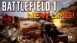Battlefield 1: NEW LMG is a Beast! Close Game on Turning Tides DLC (PS4 PRO Gameplay)