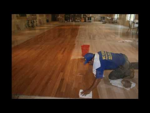 Installing Hardwood Floors Over Concrete Youtube