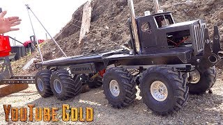 YouTube GOLD  - 8x8 Heavy Haul Mine Site Move : Make it Snappy (s2 e4) | RC ADVENTURES
