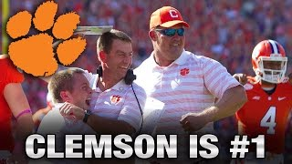 Clemson #1 In First College Football Playoff Rankings   ACC Now
