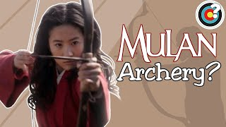 Archery in Mulan Live Action Trailer?