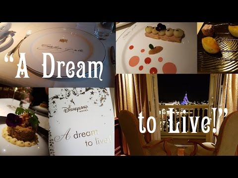 """A Dream To Live"" experience at the Disneyland Hotel"
