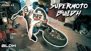 Always use PROTECTION!!! | Supermoto BuiLDH #8 | BLDH