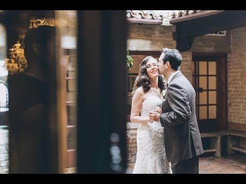 Carondelet House, DTLA, Wedding Venue | Wedding Video Jessica&Ethan |HDstudio.us CA
