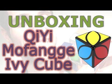 QiYi MoFangGe Ivy cube (unboxing)