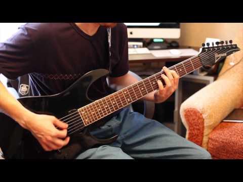 Korn & Skrillex - Get Up! (guitar cover)