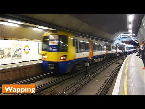 London Overground : Wapping | East London Line ( British Rail Class 378 )