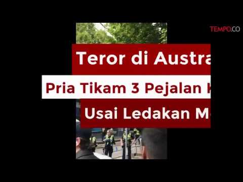 Teror di Australia, Pria Tikam 3 Pejalan Kaki Usai Ledakan Mobil Mp3