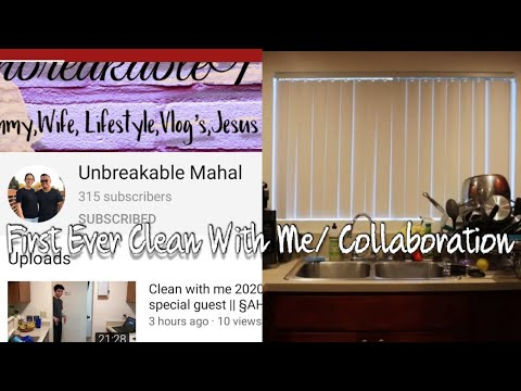 Clean With Me! My First Video! | Collaboration With Unbreakable Mahal | Glamorous Lexona