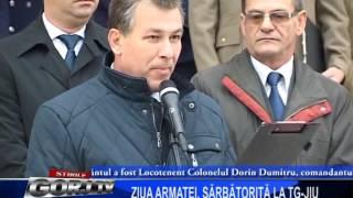 ZIUA ARMATEI, SARBATORITA LA TG JIU