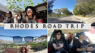 Vlog Rhodes - Greece, mini road trip