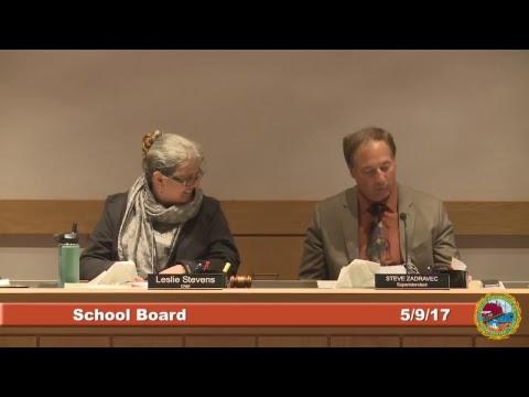 School Board 5.9.2017