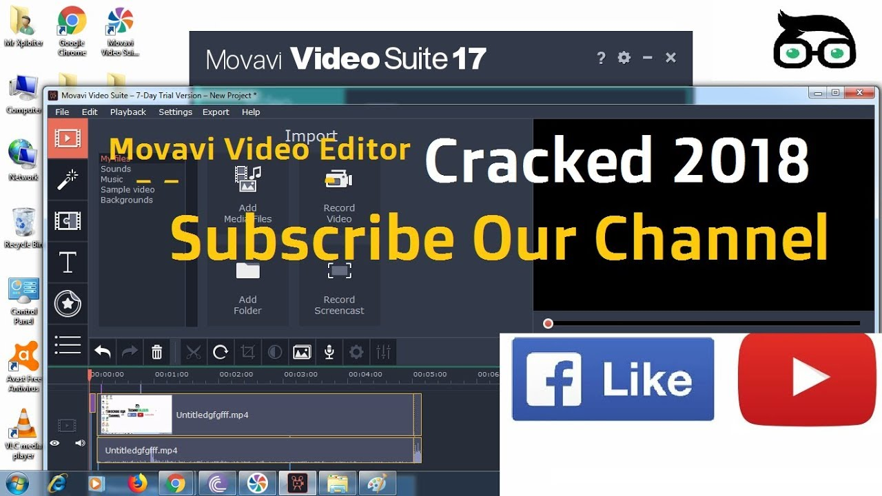 movavi video editor 14 full version with crack