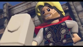 LEGO: Marvel Superheroes - Chapter 7: Bifrosty Reception (Thor, Wolverine, Human Torch, Cap)