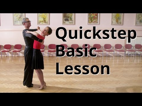 Quickstep Basic Lesson | Ballroom Dance