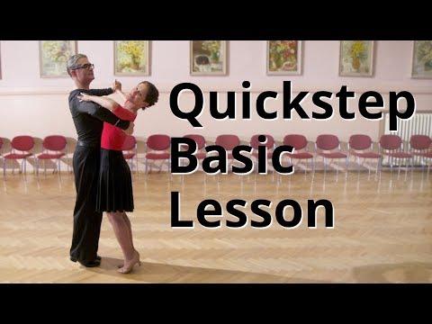 Quickstep Basic Lesson | Ballroom Dance