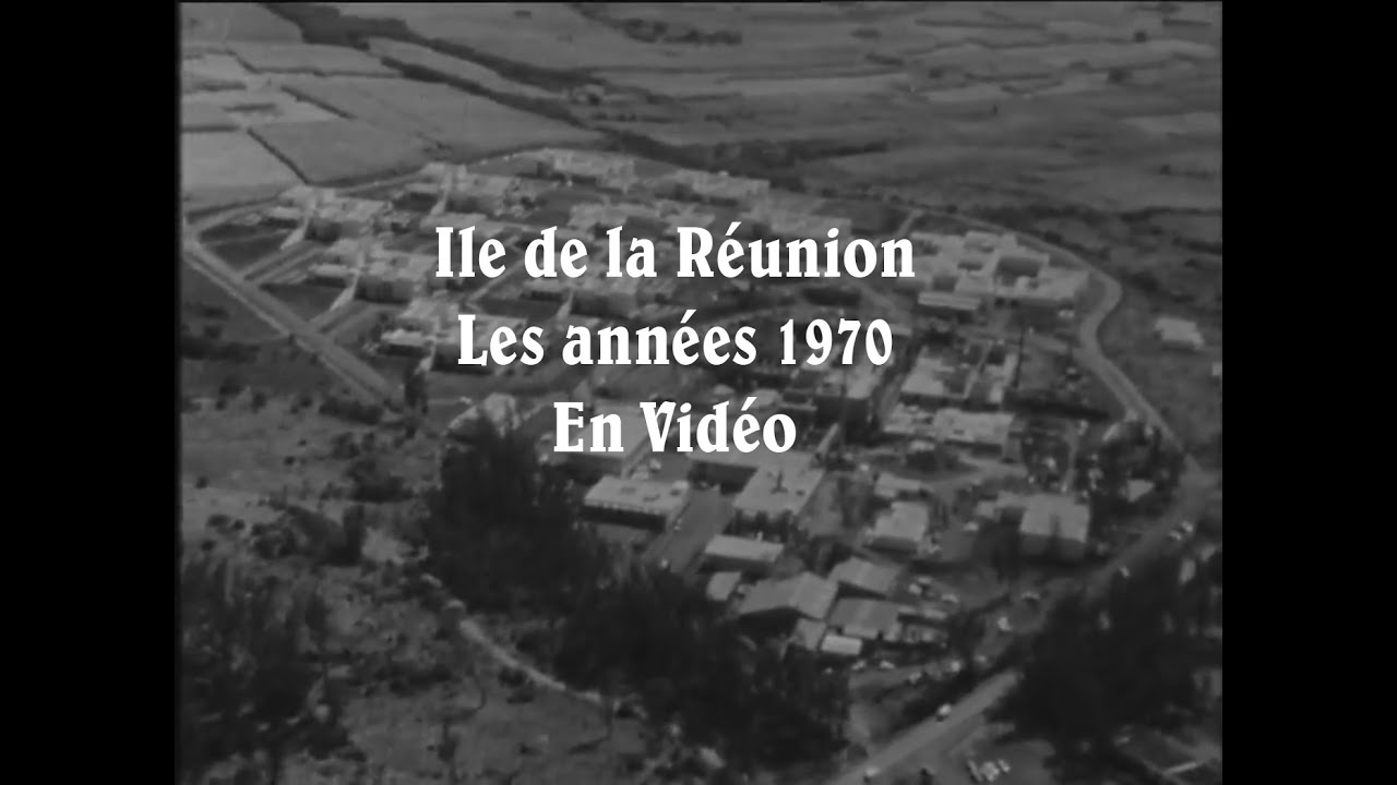 La R 233 Union Dans Les Ann 233 Es 70 En Vid 233 O Youtube