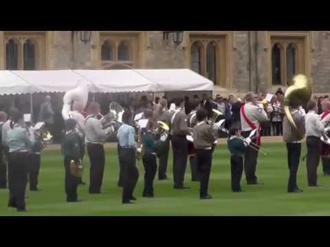 1st Claygate Scout & Guide Band St George's Day Parade 2015, Windsor Castle