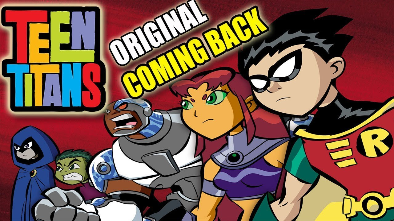 Original Teen Titans Coming Back  Teen Titans Go Movie -6070
