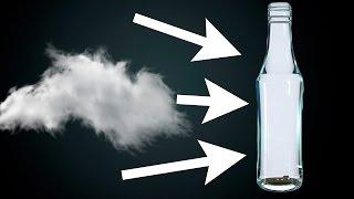 Как сделать облако в бутылке? Научный опыт!(, 2016-03-23T14:44:41.000Z)