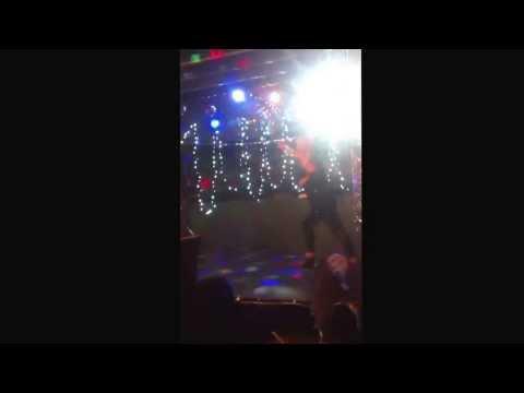 Tara Moore performing Lime & coconut by Dani Minogue at Paradox.