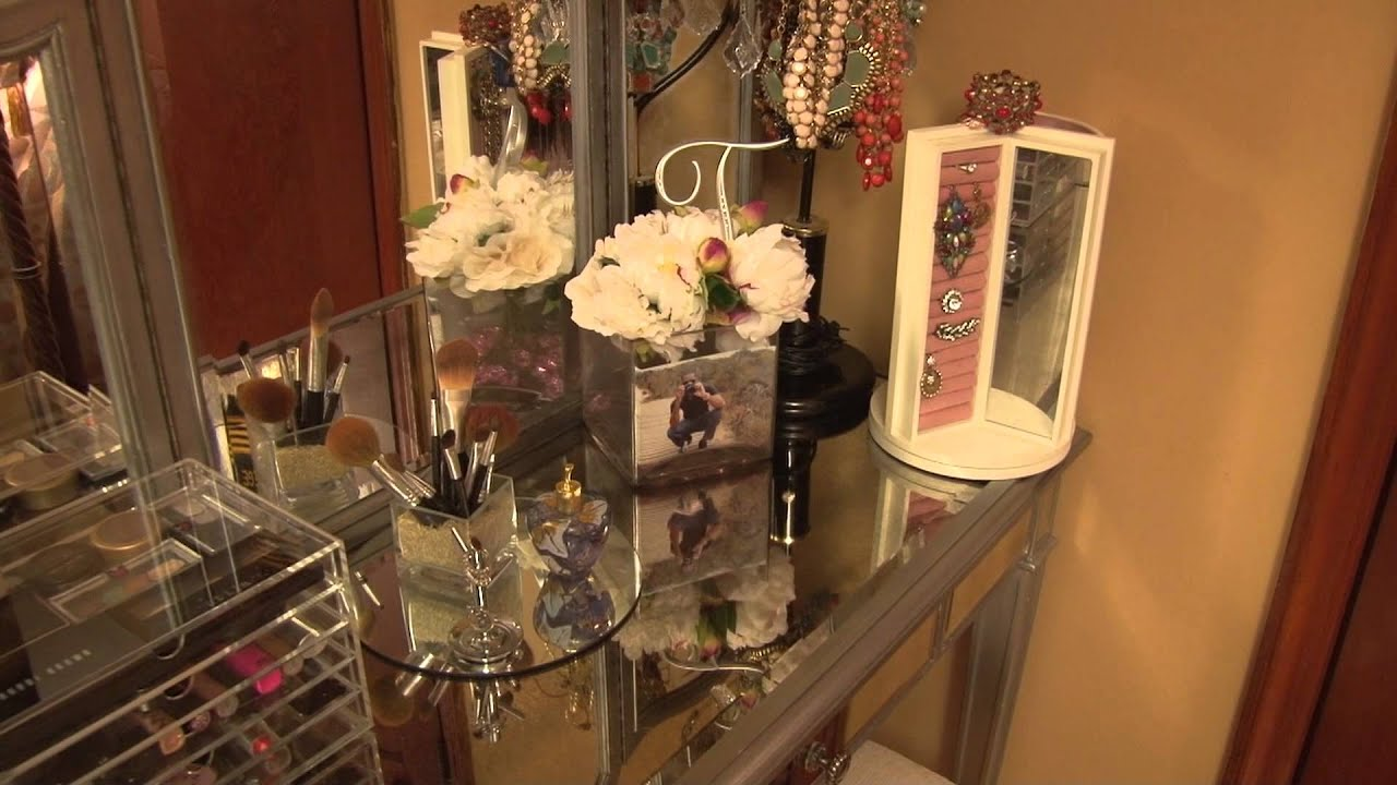 Delightful Makeup,Hair Care, Hayworth U0026 Vanity Set   YouTube