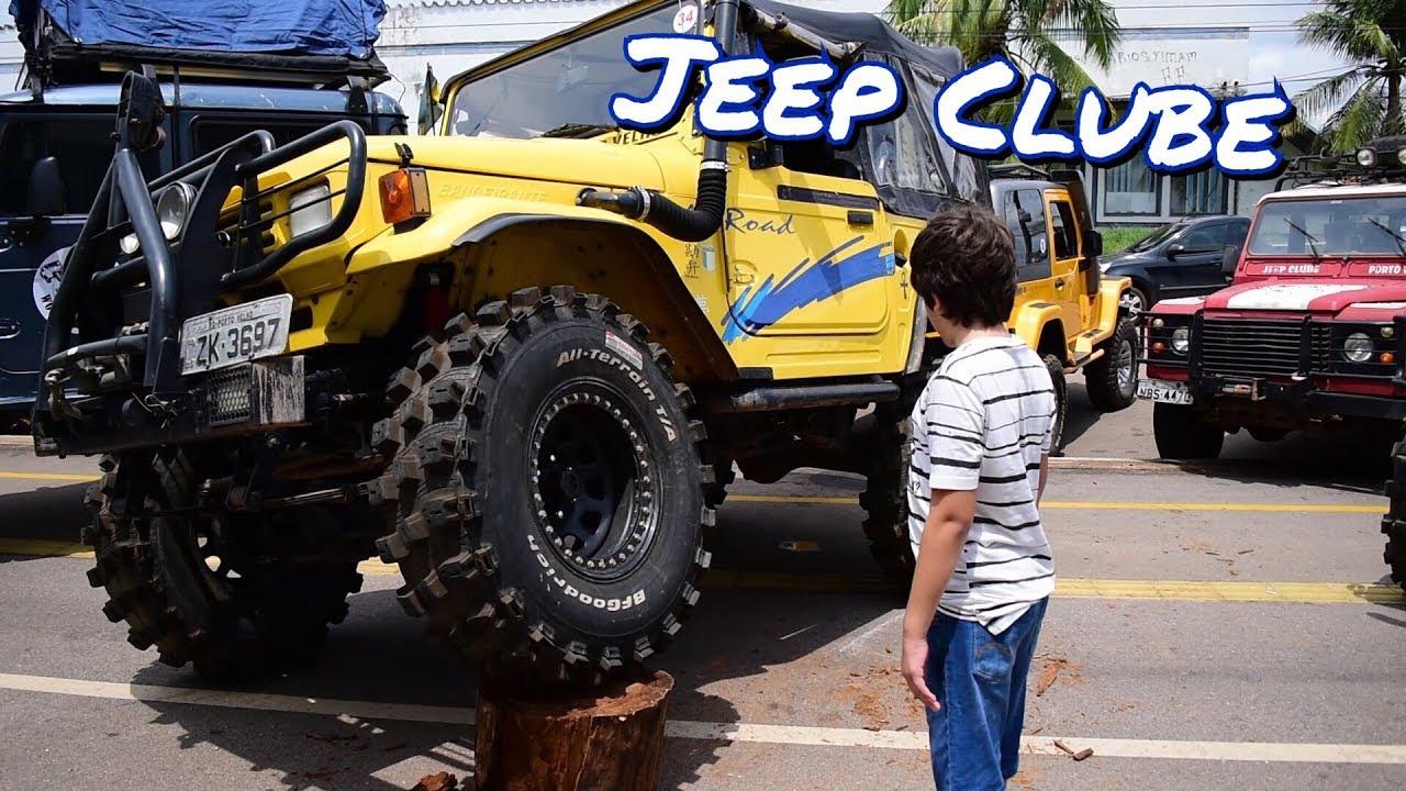 Passeando Na Exposicao De Carros 25 Anos Do Jeep Clube De Porto
