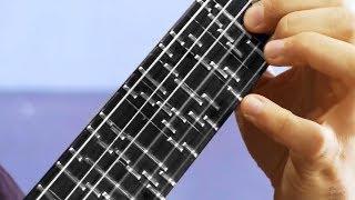 Una guitarra MUY extraña
