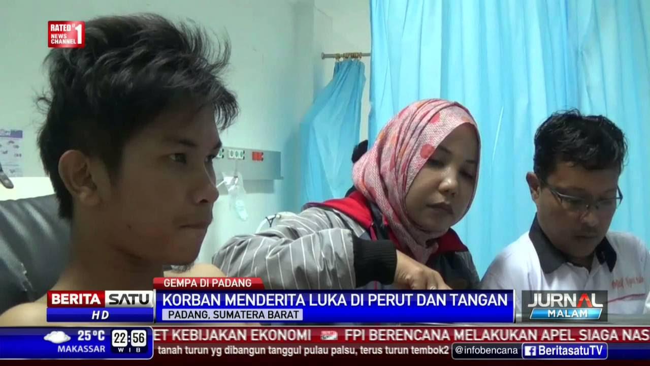 2 Warga Terluka Akibat Gempa 6,5 SR Di Padang
