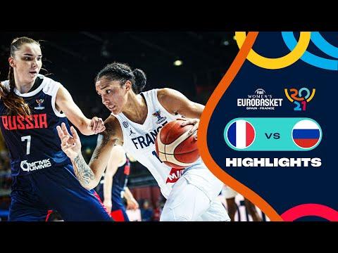 France - Russia | Highlights - FIBA Women's EuroBasket 2021