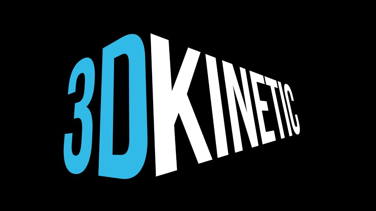 3d kinetic typography after