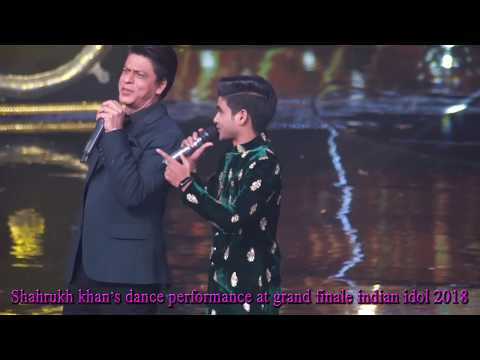 #Bollywoodselfie#Shahrukh khan# Shahrukh khan's dance performance at grand finale Indian Idol 2018 Mp3