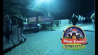Alton Towers Scarefest 2020 Vlog