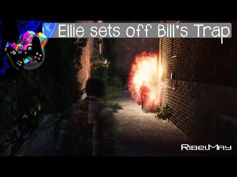Ellie Sets Of Bill's Trap