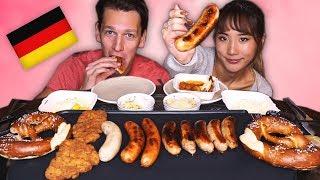 Sausage Party...GERMAN FEAST!! · YB vs. Food